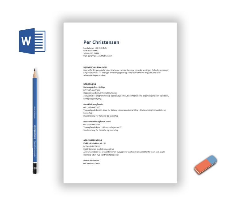 Hjelp til CV fra CV-Hjelpen